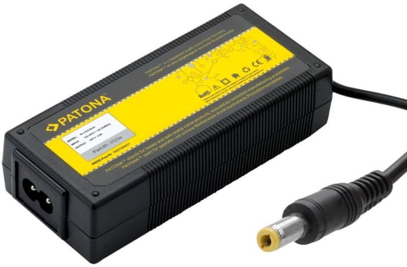 PATONA Nabíjecí adaptér pro Notebook (IBM/5,5x2,5 mm konektor; 72W), černá