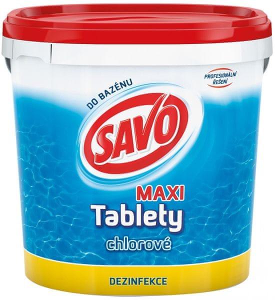 Savo Do Bazénu - Maxi tablety chlorové 4,6 kg