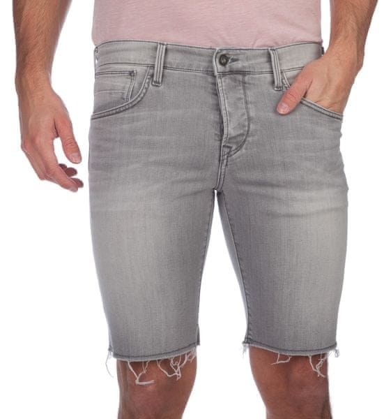 Pepe Jeans pánské kraťasy Chap 32 šedá