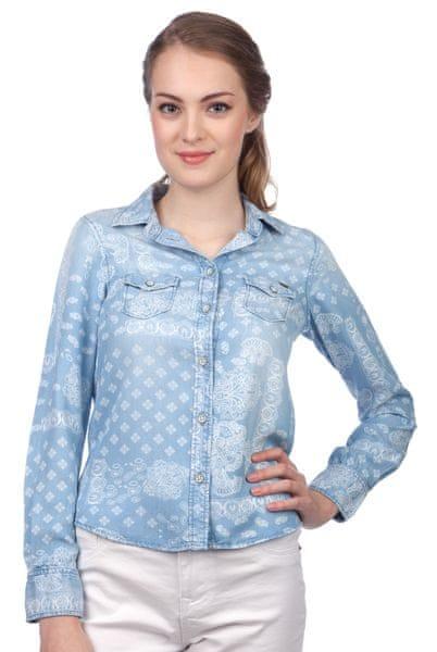 Pepe Jeans dámská košile Freedom L modrá