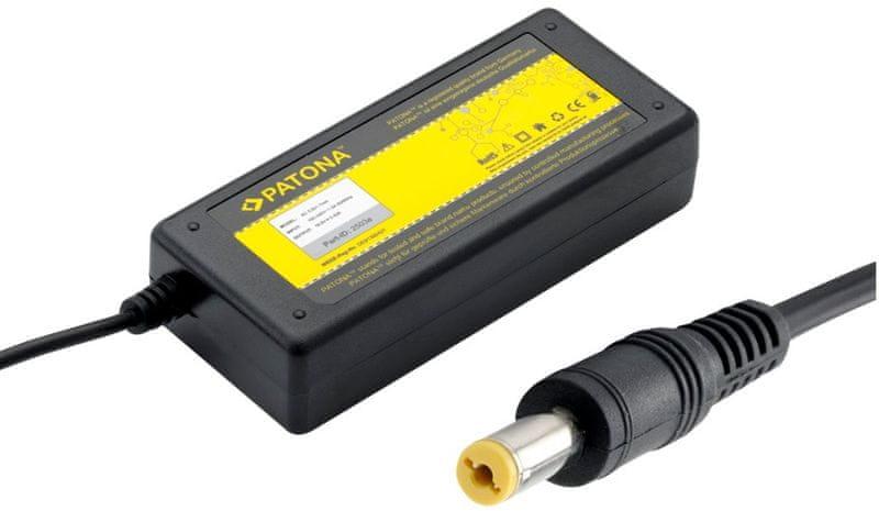 Patona Napájecí adaptér pro Notebook (Acer/5,5x1,7mm konektor; 65W), černá