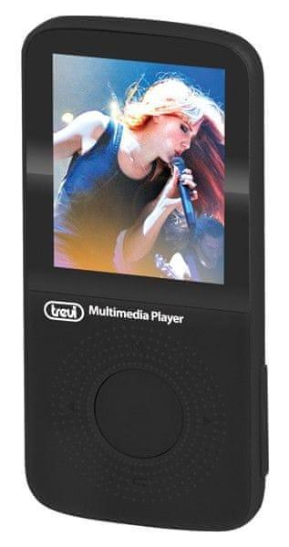 Trevi MPV 1745 SD / 8GB, černá