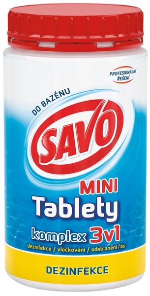 Savo Do Bazénu - Mini tablety komplex 3v1 800 g