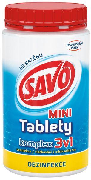 Savo Do Bazénu - Mini tablety komplex 3v1 800 g