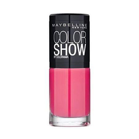 Maybelline Lak na nehty Color Show 7 ml (Odstín 489 Black)