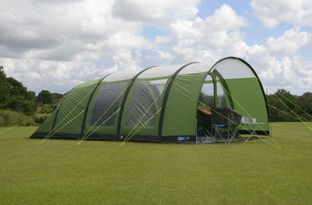 Kampa šotor Paloma 6 AIR Advantage, zelen