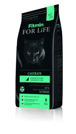 Fitmin cat For Life Castrate 8kg