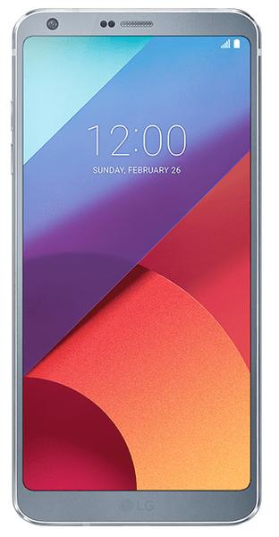 LG G6 32 GB, platinum
