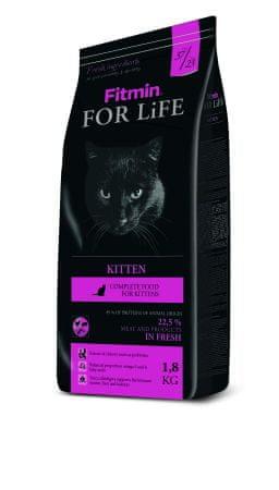 Fitmin Karma dla kociąt cat For Life Kitten 1,8 kg