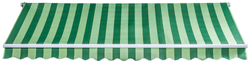 Myard Milano 3x2m s elektrickým ovládáním E SPD029, zelenobílá