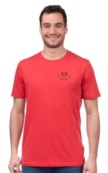 GLOBE pánské tričko Adler Classic M červená