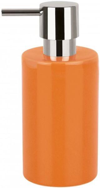 Spirella Dávkovač mýdla TUBE, orange
