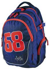 Stil školský batoh teen Jágr 68 modrý