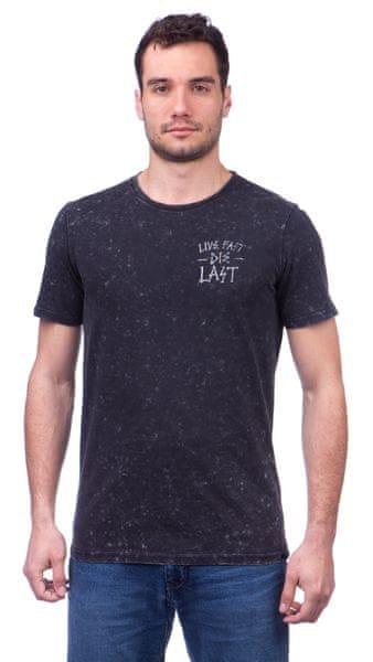 GLOBE pánské tričko Die Last M černá