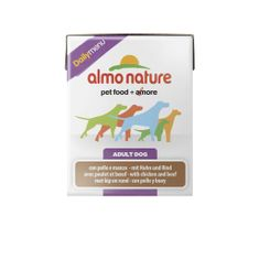 Almo Nature Daily Menu, kurczak z wołowiną, 12x375g