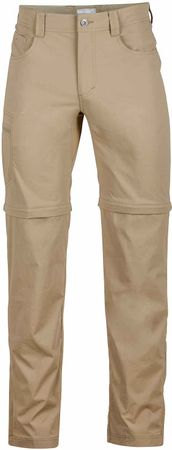 Marmot moške hlače Transcend E Convertible, rjave, 40