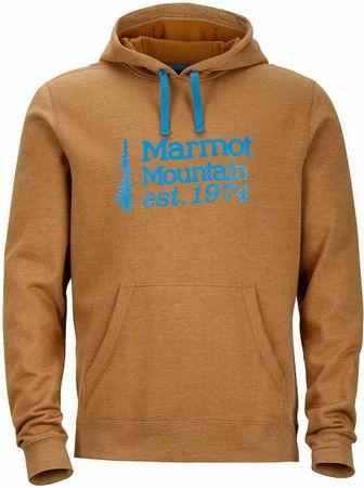 Marmot moška jopa 74 Hoody, rjava, XXL