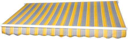 MAKERS rezervno platno Milano SPD025, 3 x 2 m, rumeno sivo