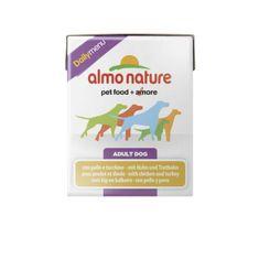 Almo Nature Daily Menu, kurczak z indykiem, 12x375g