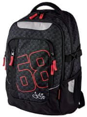 Stil školský batoh teen Jágr 68 čierny