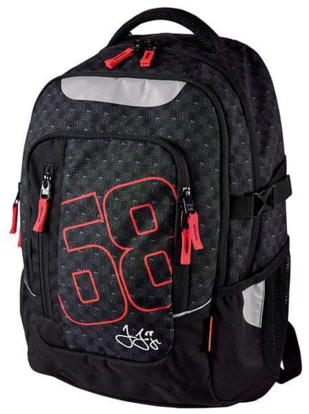 Stil školní batoh teen Jágr 68 černý