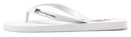 U.S. POLO ASSN. férfi flip-flop papucs Remo 45 fehér