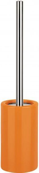 Spirella WC štětka TUBE, orange