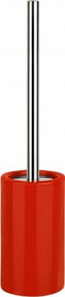 Spirella WC štětka TUBE, red