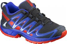 Salomon otroški čevlji Xa Pro 3D J, modri/rdeči