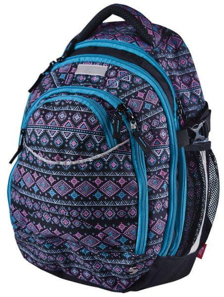 Stil školní batoh teen Ethno