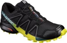 Salomon Speedcross 4 Black/Everglade/Sulphur Sp