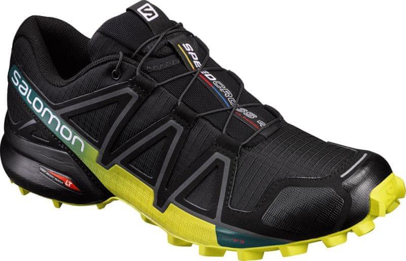 Salomon Speedcross 4 Black/Everglade/Sulphur Sp 44.7