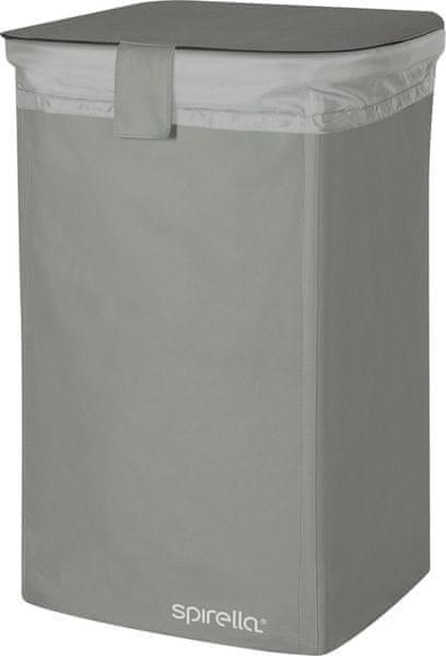 Spirella Koš na prádlo Classic L, grey
