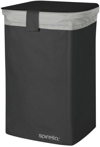 Spirella Koš na prádlo Classic L, black