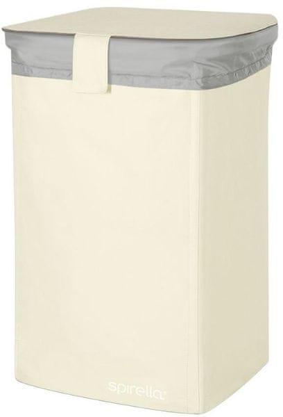 Spirella Koš na prádlo Classic L, white