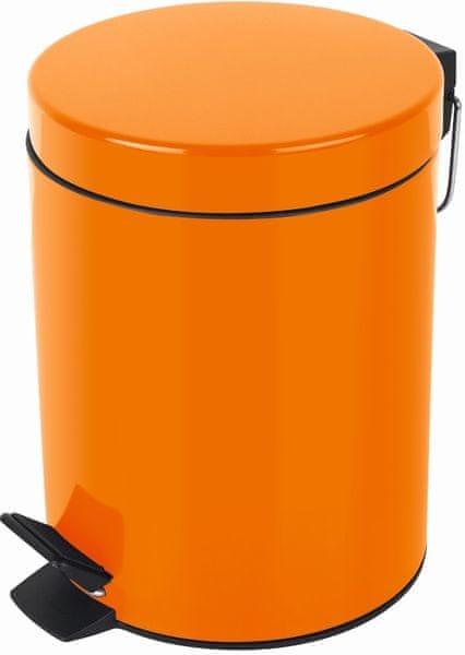 Spirella Odpadkový koš SYDNEY 3 l, orange