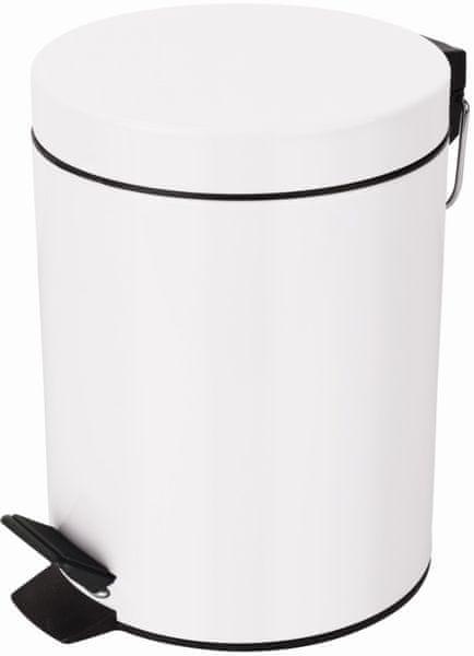 Spirella Odpadkový koš SYDNEY 3 l, white