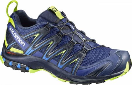 Salomon Xa Pro 3D Blue Depth/Navy Blaze/Lime Pun 42.7