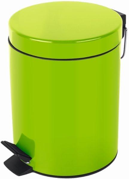 Spirella Odpadkový koš SYDNEY 5 l, kiwi