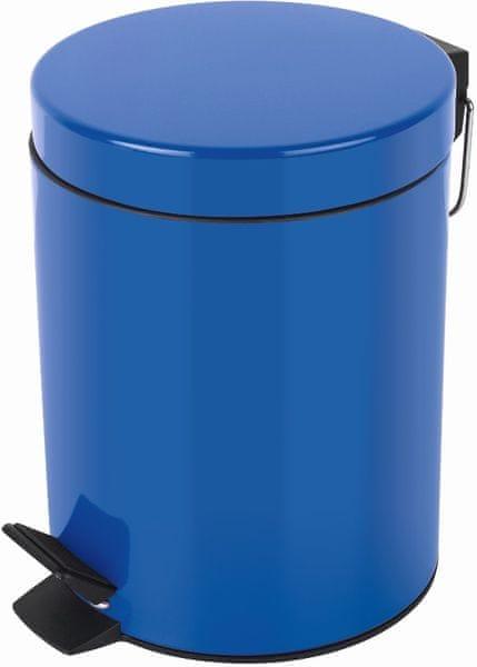 Spirella Odpadkový koš SYDNEY 5 l, blue