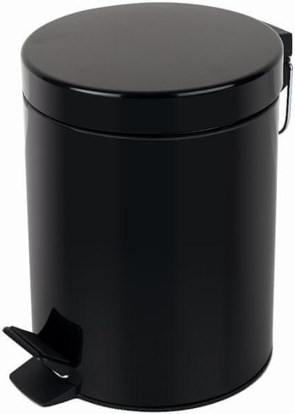 Spirella Odpadkový koš SYDNEY 5 l, black