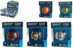 TM Toys Smart Egg hlavolam bludiště 6x5cm