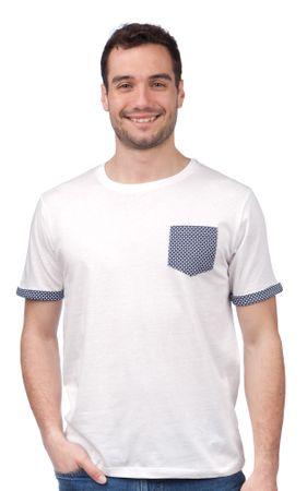Brave Soul moška majica Sphere M bela