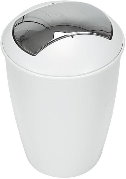 Spirella Odpadkový koš ATLANTA, white