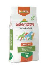 Almo Nature hrana za srednje velike pse, jagnjetina z rižem, 12kg