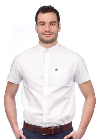 Brave Soul moška srajca Senateb XL bela