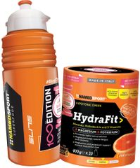 NAMEDSPORT Hydra Fit 400g + Fľaša Elite 500ml (edice 100 let Giro d'Italia)