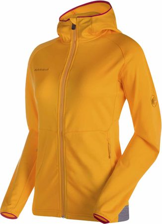 Mammut Get Away ML Hooded Jckt W radiant melange M
