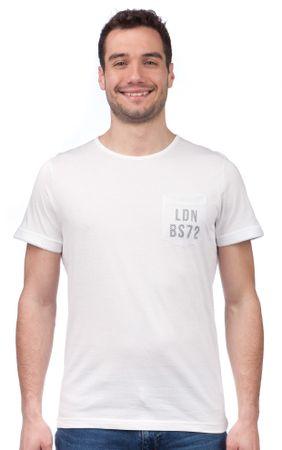 Brave Soul pánské tričko Ortiz S bílá