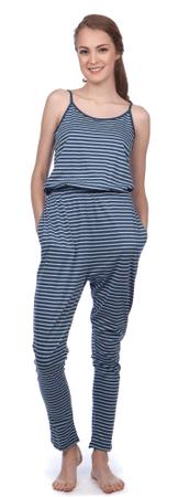 Pepe Jeans ženski kombinezon Casilda S temno modra